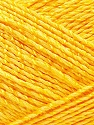 Fiber Content 50% Viscose, 50% Rayon, Yellow, Brand Ice Yarns, Yarn Thickness 2 Fine  Sport, Baby, fnt2-32629