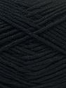 Fiber Content 100% Viscose, Brand Ice Yarns, Black, Yarn Thickness 2 Fine  Sport, Baby, fnt2-32638