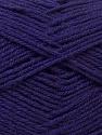 Fiber Content 100% Acrylic, Purple, Brand ICE, Yarn Thickness 3 Light  DK, Light, Worsted, fnt2-32704