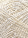 Fiber Content 50% Cotton, 50% Polyester, White, Brand Ice Yarns, Yarn Thickness 2 Fine  Sport, Baby, fnt2-33040