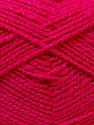 Fiber Content 94% Acrylic, 6% Lurex, Brand Ice Yarns, Fuchsia, Yarn Thickness 3 Light  DK, Light, Worsted, fnt2-33096