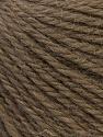 Fiber Content 100% Alpaca, Brand Ice Yarns, Dark Camel, Yarn Thickness 2 Fine  Sport, Baby, fnt2-33112