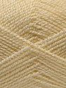 Fiber Content 94% Acrylic, 6% Lurex, Irridescent, Brand Ice Yarns, Cream, Yarn Thickness 3 Light  DK, Light, Worsted, fnt2-33128