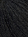 Fiber Content 70% Acrylic, 30% Wool, Brand ICE, Black, Yarn Thickness 4 Medium  Worsted, Afghan, Aran, fnt2-33894