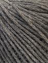 Fiber Content 58% Acrylic, 20% Wool, 12% Nylon, 10% Alpaca, Yarn Thickness Other, Brand ICE, Grey, fnt2-33993