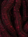 Fiber Content 90% Acrylic, 5% Wool, 5% Polyamide, Brand ICE, Burgundy, Yarn Thickness 6 SuperBulky  Bulky, Roving, fnt2-34053