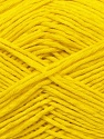 Fiber Content 67% Cotton, 33% Polyester, Yellow, Brand ICE, Yarn Thickness 2 Fine  Sport, Baby, fnt2-34101