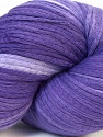 In this yarn a 100% Cotton lase yarn is used. Dyeing process is totally hand made with natural plants and NO chemicals were used. For this reason, please be advised that some white parts may remain. Fiber Content 100% Cotton, Purple Shades, Brand ICE, Yarn Thickness 3 Light  DK, Light, Worsted, fnt2-34230