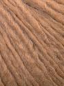 Fiber Content 50% Wool, 40% Acrylic, 10% Alpaca, Light Brown, Brand ICE, Yarn Thickness 4 Medium  Worsted, Afghan, Aran, fnt2-34419