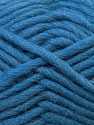 Perfect for felting in the washing machine. Shrinkage about 30%-40% Fiber Content 100% Virgin Wool, Jeans Blue, Brand ICE, Yarn Thickness 5 Bulky  Chunky, Craft, Rug, fnt2-34696