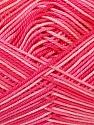 Fiber Content 100% Mercerised Cotton, Pink Shades, Brand ICE, Yarn Thickness 2 Fine  Sport, Baby, fnt2-34761