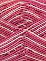 Fiber Content 100% Mercerised Cotton, White, Rose Pink, Brand ICE, Yarn Thickness 2 Fine  Sport, Baby, fnt2-34762