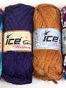 Please note that the weight and yardage information for this lot is approximate Scarf Yarns, Brand Ice Yarns, Yarn Thickness 6 SuperBulky  Bulky, Roving, fnt2-34804