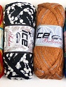 Please note that the weight and yardage information for this lot is approximate Scarf Yarns, Brand ICE, Yarn Thickness 6 SuperBulky  Bulky, Roving, fnt2-34806