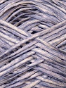 Fiber Content 50% Cotton, 50% Acrylic, White, Lilac, Brand ICE, Yarn Thickness 3 Light  DK, Light, Worsted, fnt2-34924