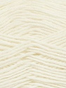 Fiber Content 50% Wool, 50% Acrylic, White, Brand Ice Yarns, Yarn Thickness 3 Light  DK, Light, Worsted, fnt2-35018
