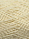 Fiber Content 50% Wool, 50% Acrylic, Brand Ice Yarns, Cream, Yarn Thickness 3 Light  DK, Light, Worsted, fnt2-35022