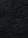 Fiber Content 70% Mohair, 30% Acrylic, Brand ICE, Black, Yarn Thickness 3 Light  DK, Light, Worsted, fnt2-35044