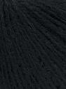 Fiber Content 70% Acrylic, 30% Alpaca, Brand ICE, Black, Yarn Thickness 2 Fine  Sport, Baby, fnt2-35391