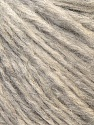 Fiber Content 70% Royal Baby Alpaca, 20% Nylon, 10% Merino Wool, Brand ICE, Grey Melange, Yarn Thickness 4 Medium  Worsted, Afghan, Aran, fnt2-35426