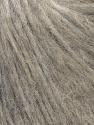 Fiber Content 70% Royal Baby Alpaca, 20% Nylon, 10% Merino Wool, Light Grey, Brand ICE, Yarn Thickness 4 Medium  Worsted, Afghan, Aran, fnt2-35427