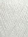Fiber Content 97% Nylon, 3% Lurex, White, Yarn Thickness Other, Brand ICE, fnt2-35480