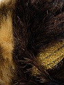 Fiber Content 7% Metallic Lurex, 60% Polyamide, 5% Mohair, 18% Acrylic, 10% Polyester, Brand ICE, Gold, Brown Shades, Yarn Thickness 5 Bulky  Chunky, Craft, Rug, fnt2-35500