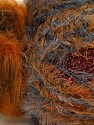 Fiber Content 5% Metallic Lurex, 45% Polyamide, 25% Acrylic, 25% Polyester, Orange, Brand ICE, Copper, Brown Shades, Yarn Thickness 5 Bulky  Chunky, Craft, Rug, fnt2-35509