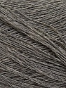 Fiber Content 60% Baby Alpaca, 25% Merino Wool, 15% Nylon, Brand ICE, Grey, fnt2-35523