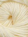 Fiber Content 60% Premium Acrylic, 40% Merino Wool, Brand ICE, Cream, Yarn Thickness 2 Fine  Sport, Baby, fnt2-35560