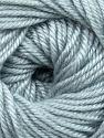 Fiber Content 60% Premium Acrylic, 40% Merino Wool, Light Grey, Brand Ice Yarns, Yarn Thickness 2 Fine  Sport, Baby, fnt2-35563