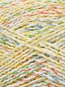 Fiber Content 80% Acrylic, 20% Polyamide, Yellow, White, Brand ICE, Green, Blue, Yarn Thickness 2 Fine  Sport, Baby, fnt2-35585