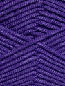 This is a tube-like yarn with soft fleece inside. Fiber Content 73% Viscose, 27% Polyester, Purple, Brand Ice Yarns, Yarn Thickness 5 Bulky  Chunky, Craft, Rug, fnt2-35609