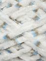Fiber Content 100% Micro Fiber, White, Brand ICE, Brown, Blue, Yarn Thickness 4 Medium  Worsted, Afghan, Aran, fnt2-35642