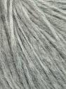 Fiber Content 27% Acrylic, 23% Wool, 23% Nylon, 15% Alpaca Superfine, 12% Viscose, Brand ICE, Grey, Yarn Thickness 4 Medium  Worsted, Afghan, Aran, fnt2-35663