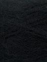 Fiber Content 70% Angora, 30% Acrylic, Brand Ice Yarns, Black, Yarn Thickness 2 Fine  Sport, Baby, fnt2-35667