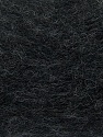 Fiber Content 70% Angora, 30% Acrylic, Brand Ice Yarns, Anthracite Black, Yarn Thickness 2 Fine  Sport, Baby, fnt2-35668