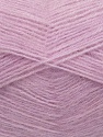 Fiber Content 70% Angora, 30% Acrylic, Light Lilac, Brand ICE, Yarn Thickness 2 Fine  Sport, Baby, fnt2-35680
