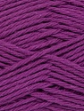 Baby cotton is a 100% premium giza cotton yarn exclusively made as a baby yarn. It is anti-bacterial and machine washable! Fiber Content 100% Giza Cotton, Purple, Brand Ice Yarns, Yarn Thickness 3 Light  DK, Light, Worsted, fnt2-35704