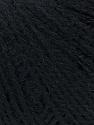 Fiber Content 35% Acrylic, 35% Merino Wool, 30% Baby Alpaca, Brand ICE, Black, Yarn Thickness 2 Fine  Sport, Baby, fnt2-35716