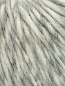 Fiber Content 35% Acrylic, 30% Wool, 20% Alpaca Superfine, 15% Viscose, White, Brand ICE, Grey, Yarn Thickness 5 Bulky  Chunky, Craft, Rug, fnt2-35725