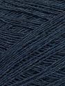 Fiber Content 60% Baby Alpaca, 25% Merino Wool, 15% Nylon, Navy Melange, Brand ICE, Yarn Thickness 1 SuperFine  Sock, Fingering, Baby, fnt2-35752
