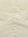 Fiber Content 70% Acrylic, 30% Wool, White, Brand ICE, Yarn Thickness 3 Light  DK, Light, Worsted, fnt2-35753