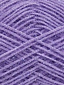 Fiber Content 60% Polyester, 40% Lurex, Light Lilac, Brand ICE, Yarn Thickness 5 Bulky  Chunky, Craft, Rug, fnt2-35790