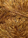 Fiber Content 75% Polyester, 25% Lurex, Brand ICE, Gold, Camel, Yarn Thickness 5 Bulky  Chunky, Craft, Rug, fnt2-35803