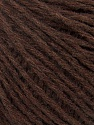 Fiber Content 50% Acrylic, 50% Wool, Brand Ice Yarns, Dark Brown, Yarn Thickness 3 Light  DK, Light, Worsted, fnt2-35929