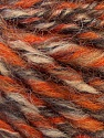 Fiber Content 50% Merino Wool, 25% Alpaca, 25% Acrylic, Orange, Brand ICE, Camel, Brown, Yarn Thickness 5 Bulky  Chunky, Craft, Rug, fnt2-36059