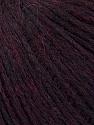 Fiber Content 7% Nylon, 40% Wool, 28% Acrylic, 25% Alpaca Superfine, Maroon, Brand ICE, Yarn Thickness 5 Bulky  Chunky, Craft, Rug, fnt2-36202