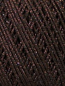 Fiber Content 70% Acrylic, 20% Metallic Lurex, 10% Cotton, Brand ICE, Brown, fnt2-36267