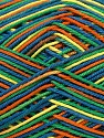 Fiber Content 100% Mercerised Cotton, Yellow, Orange, Brand ICE, Green, Blue, Yarn Thickness 2 Fine  Sport, Baby, fnt2-36283